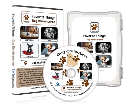 Reminiscence Therapy - Dogs DVD & Photo/Activity Cards Kit