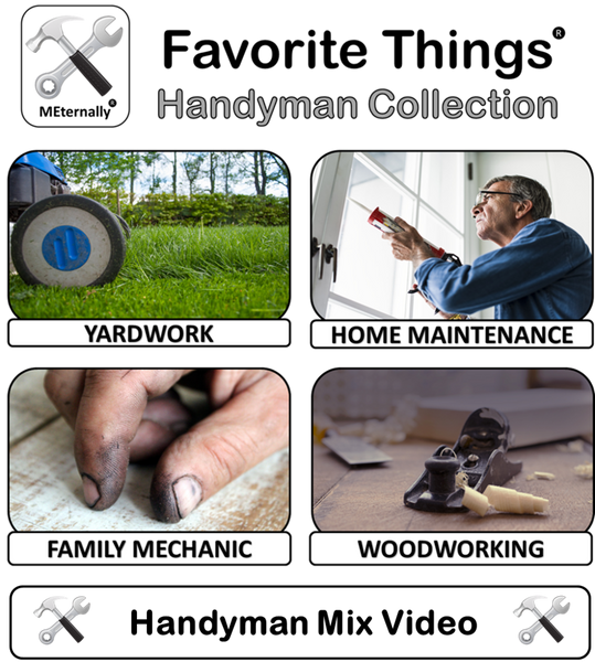 Reminiscence Therapy - Handyman DVD with Photo & Activity Cards