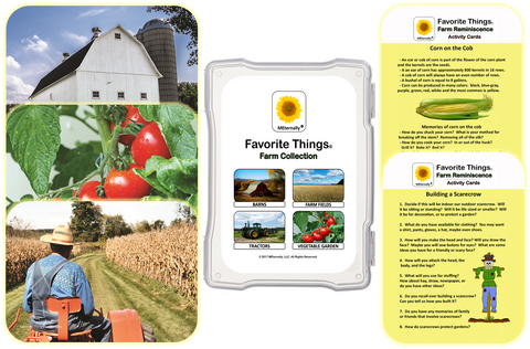 Reminiscence Therapy - Farm Collection Photo and Activity Cards