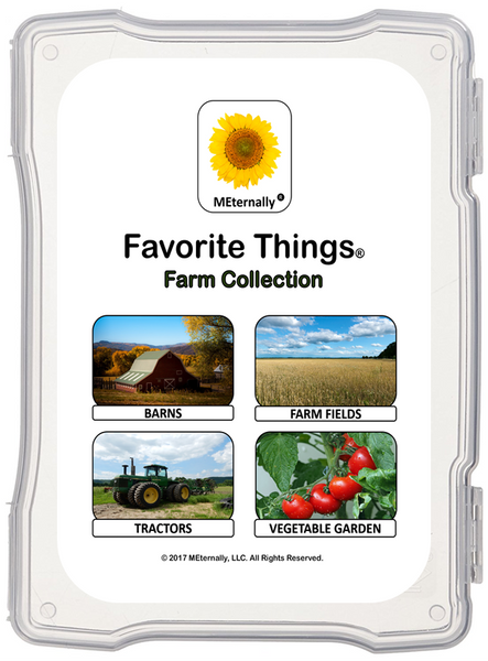 Library/Facility Zip Pack - Reminiscence Therapy - Farm DVD & Photo/Activity Cards Kit