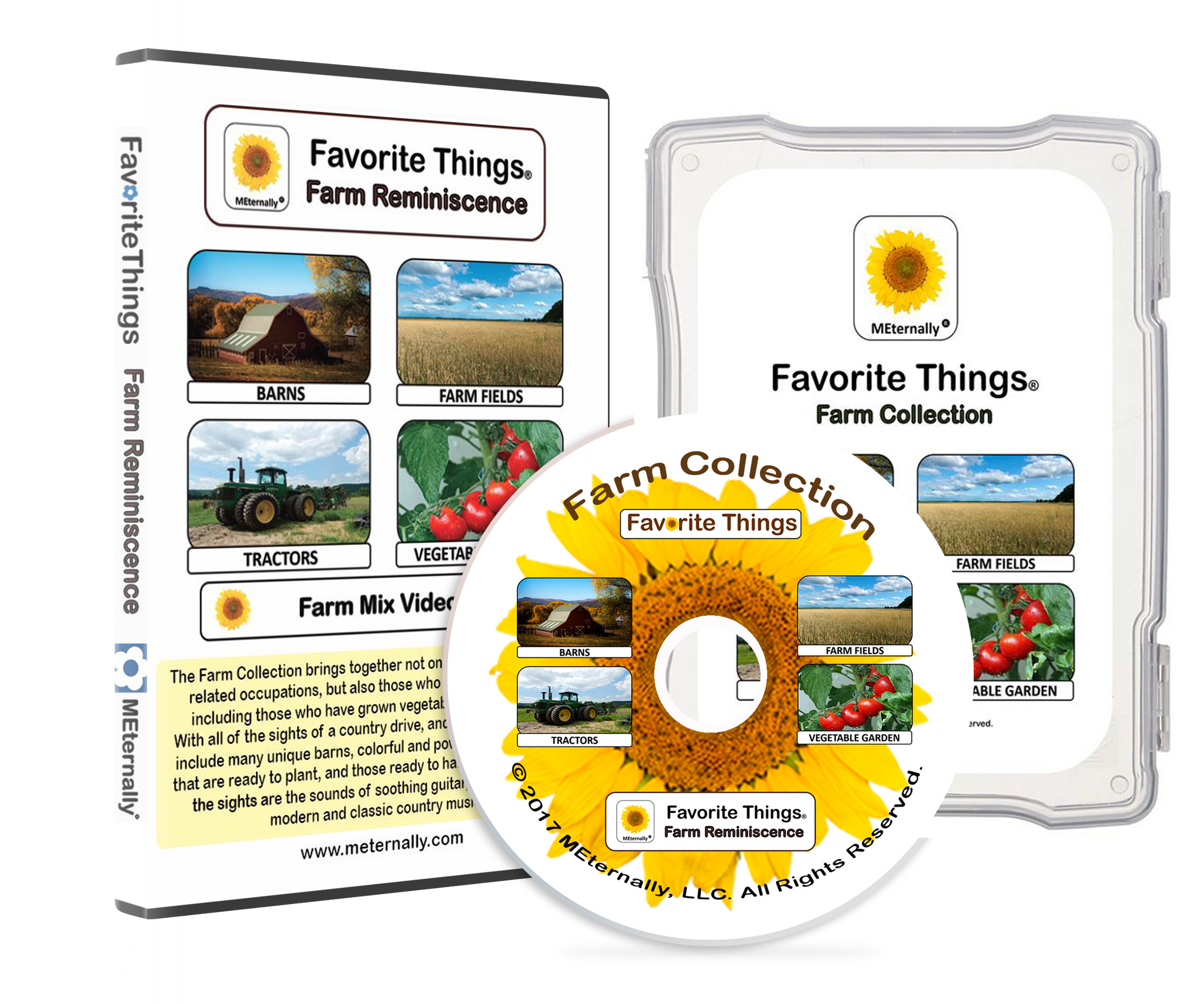 Reminiscence Therapy - Farm DVD & Photo/Activity Cards Kit
