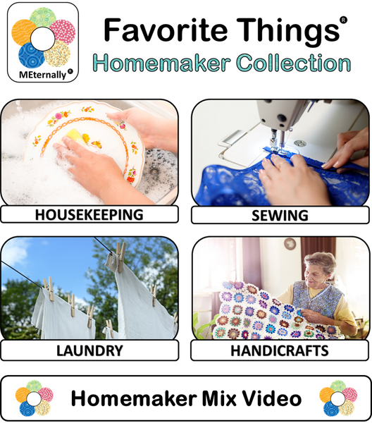 Reminiscence Therapy - Homemaker Collection DVD