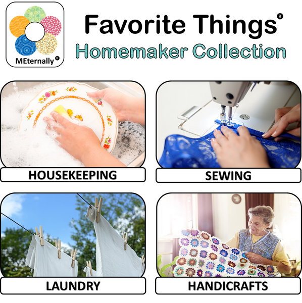 Library/Facility Zip Pack - Reminiscence Therapy - Homemaker DVD with Photo and Activity Cards Kit