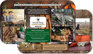 Reminiscence Therapy - 14 x 24 Great Outdoors Collection MEGA Memory Mat (Hunting)