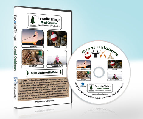 Reminiscence Therapy - Favorite Things Great Outdoors DVD