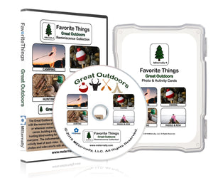Reminiscence Therapy - Favorite Things Great Outdoors DVD & Photo/Activity Card Kit