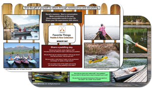 Reminiscence Therapy - Great Outdoors Collection Memory Mats (Paddle & Row)