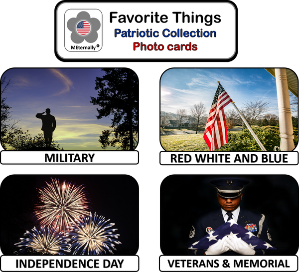 Reminiscence Therapy - Patriotic DVD & Photo/Activity Cards Kit