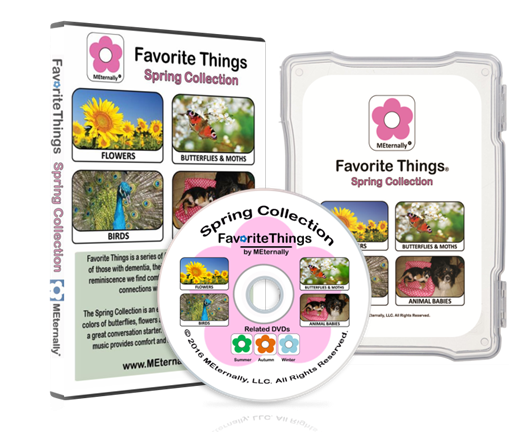 Reminiscence Therapy - Spring Collection DVD & Photo/Activity Cards Kit