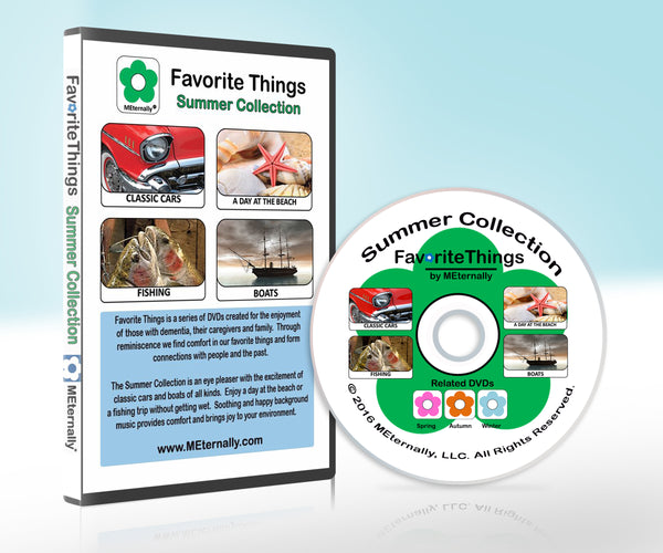 Library/Facility Pack - Reminiscence Therapy - Summer DVD & Photo/Activity Cards Kit