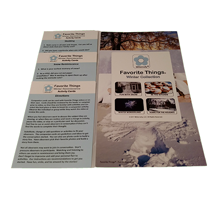 Reminiscence Therapy - Winter Collection Photo/Activity Cards