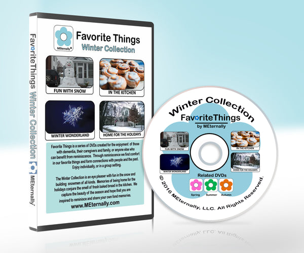 Reminiscence Therapy - Winter DVD & Photo/Activity Cards Kit