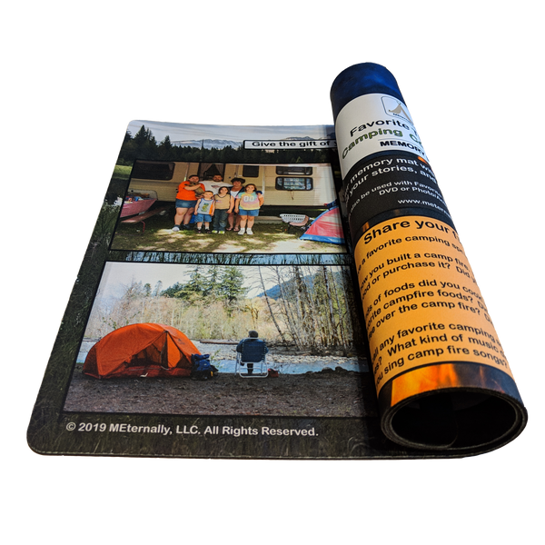 Reminiscence Therapy - Great Outdoors Collection Memory Mats (Camping)