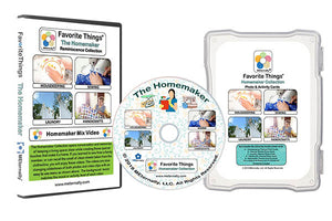 Reminiscence Therapy - Homemaker DVD with Photo and Activity Cards Kit