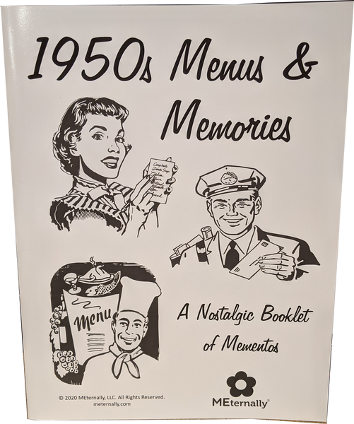 1950s Menus and Memories Booklet