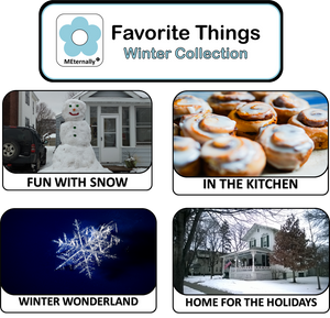 Reminiscence Therapy - Winter Collection DVD & Photo/Activity Cards Kit
