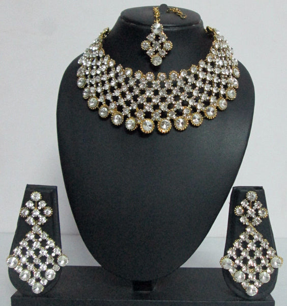 Bridal Diamonte Crystal Set - Shikifashion