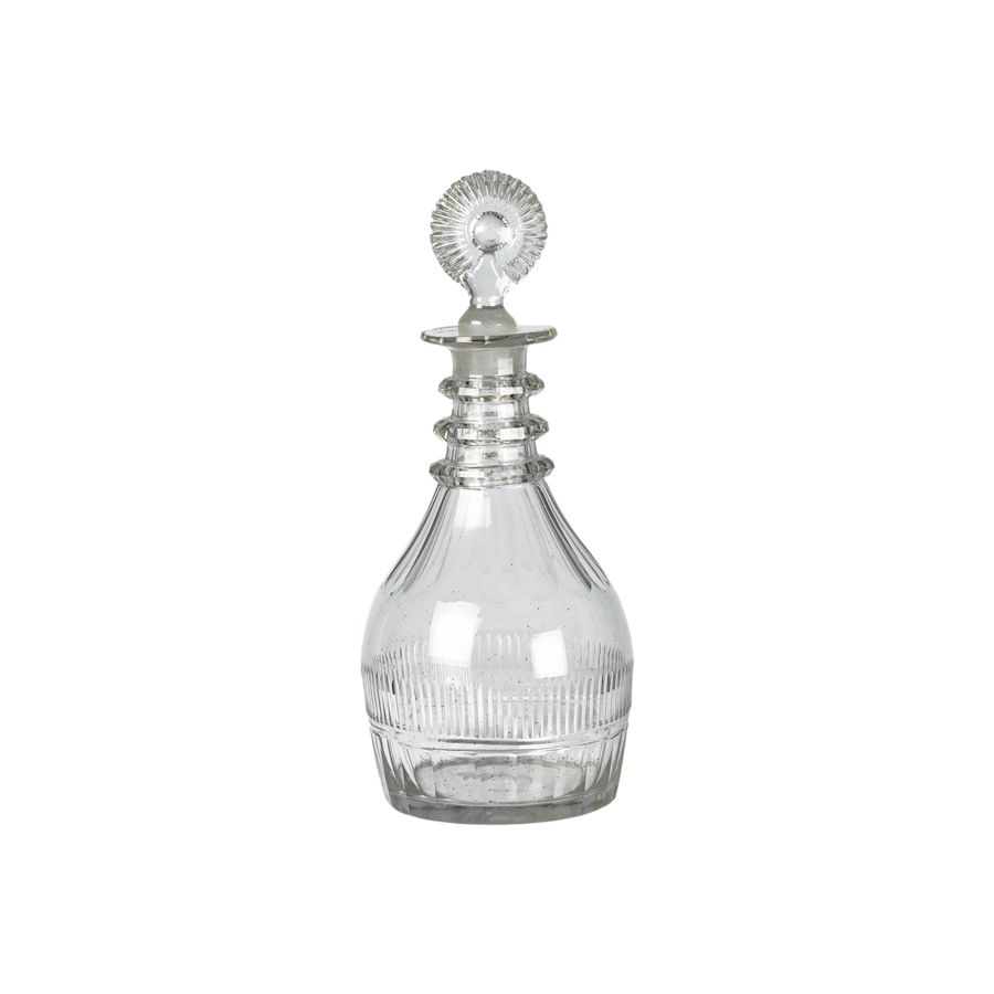 Antique English Crystal Decanter - 1830s