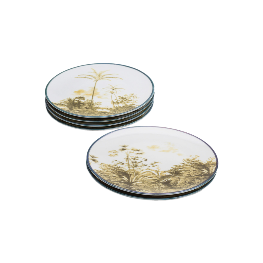 Grand Tour by Vito Nesta - Las Palmas Salad Plates - Set of 6