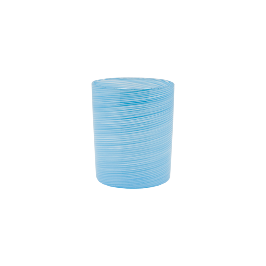 Textured Round Glass Tumbler - Short