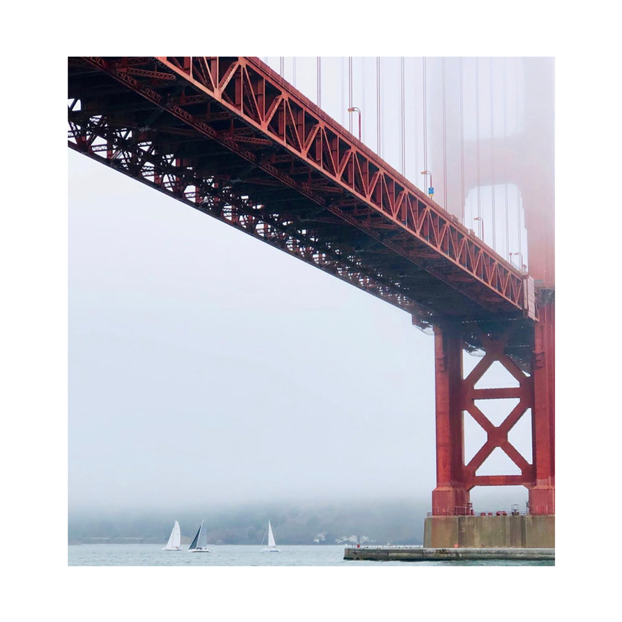 Michele Bell Photography - Under the Golden Gate - Acrylic Block