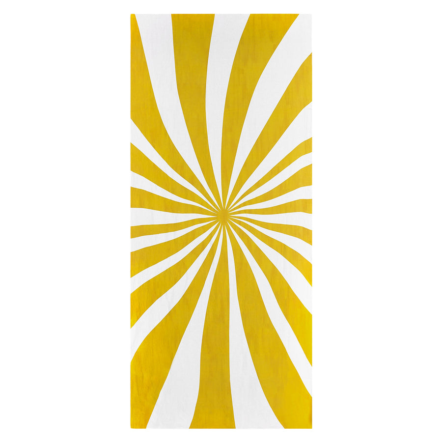 Le Cirque Yellow Linen Tablecloth by Summerill & Bishop