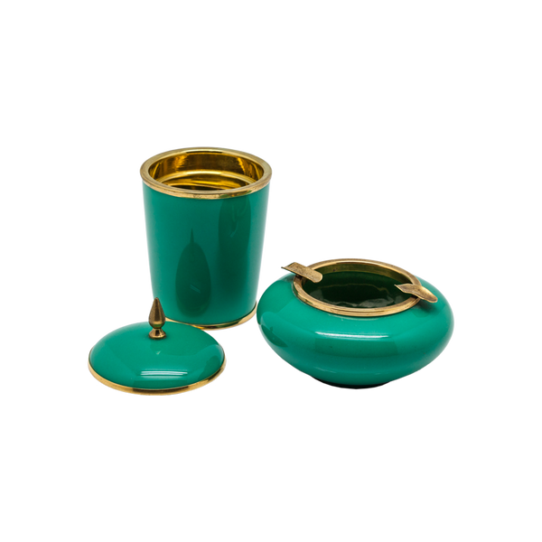 Enamel and Brass 1930's Bar Accessory