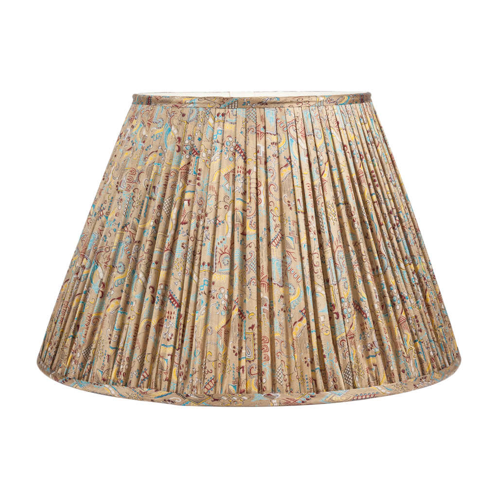 Vintage Silk Sari Lamp Shades