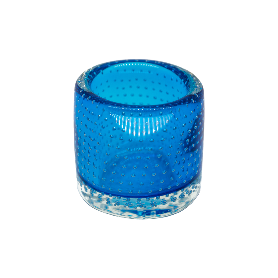 Blue Control Bubble Vase
