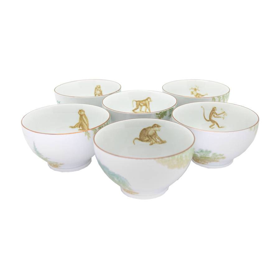 Grand Tour by Vito Nesta - Galtaji Bowls - Set of 6