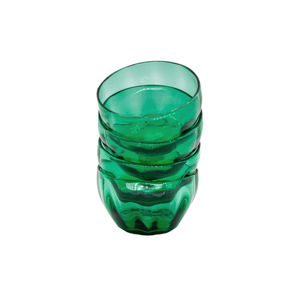 Green Glass Finger Bowl