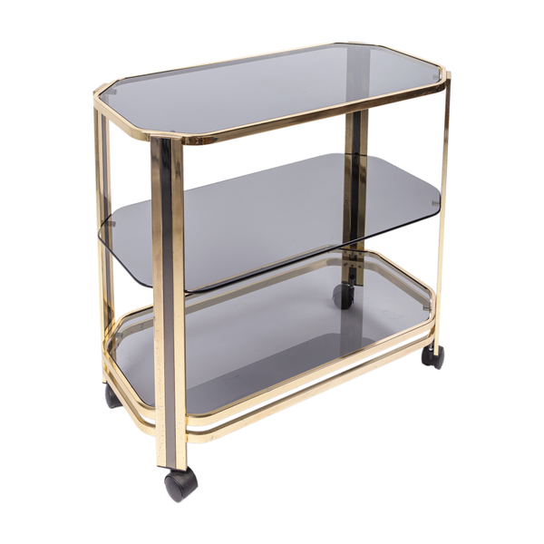 Italian Bar Cart in the manner of Willy Rizzo