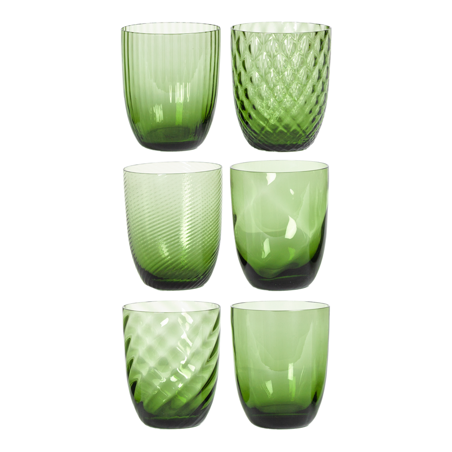 Murano Glasses by Nason Moretti - Set of 6