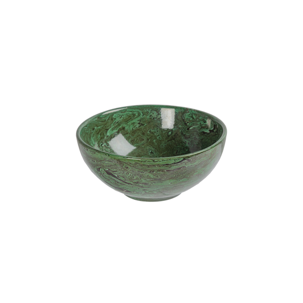 French Marbleized Pottery - Bowls by La Tuile à Loup