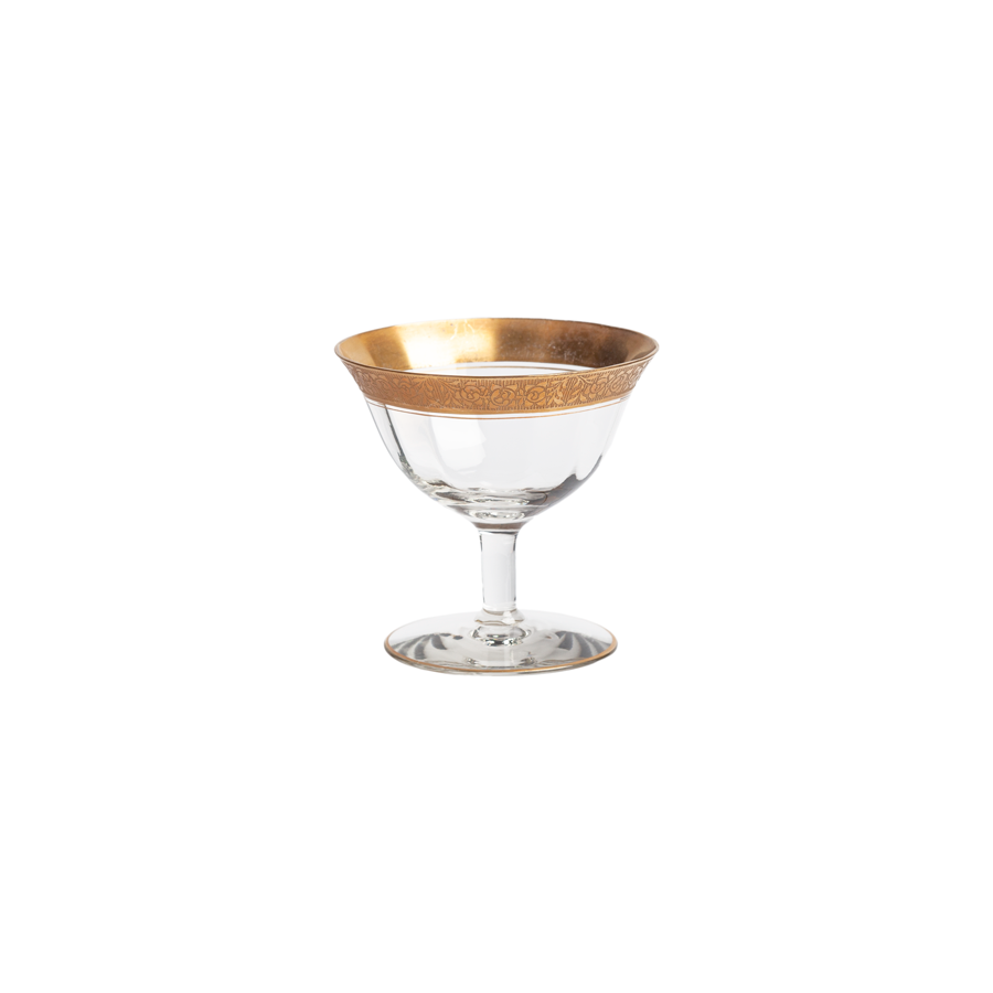 Franciscan  Gold Champagne Coupes - Set of 10