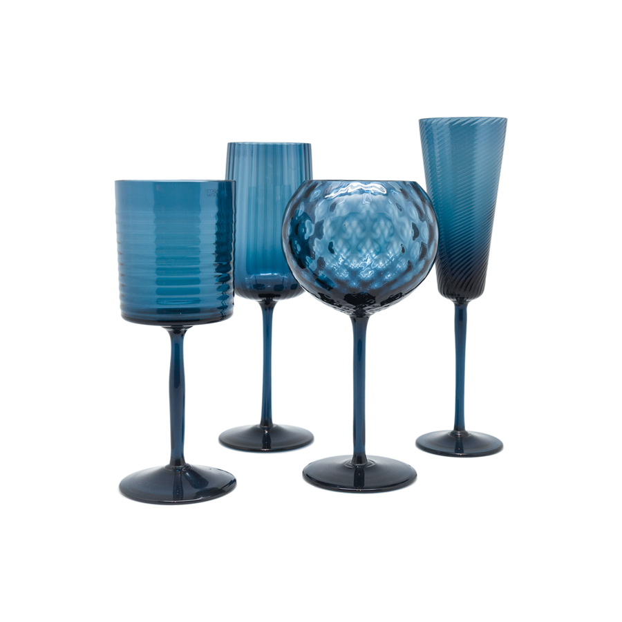Murano Stemware by Nason Morretti - sets of 6