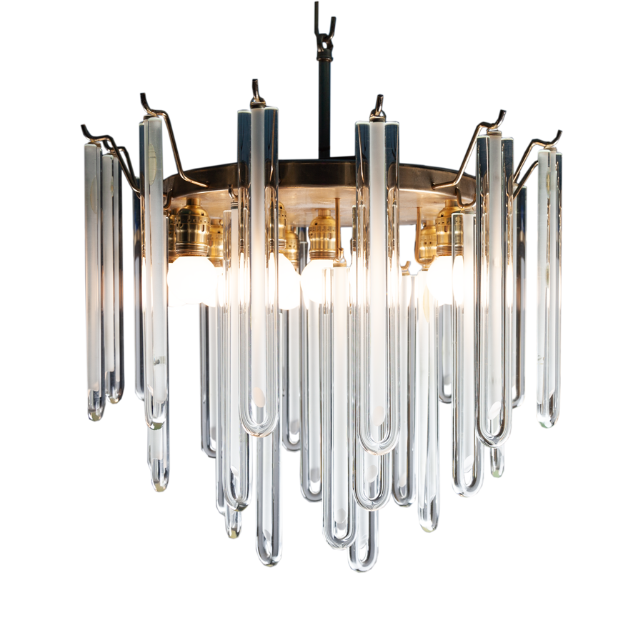Art Deco Italian Chandelier