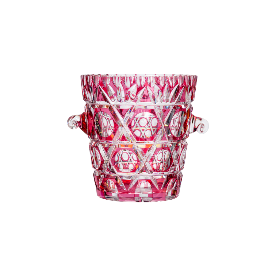 Pink Crystal Cocktail Ice Bucket