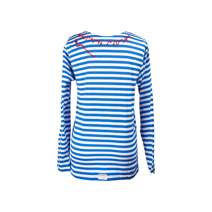 Kilometre Striped Russian Sailor Tee