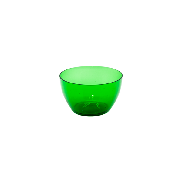 Lalique Green Glass Fruit Bowls - set of 6