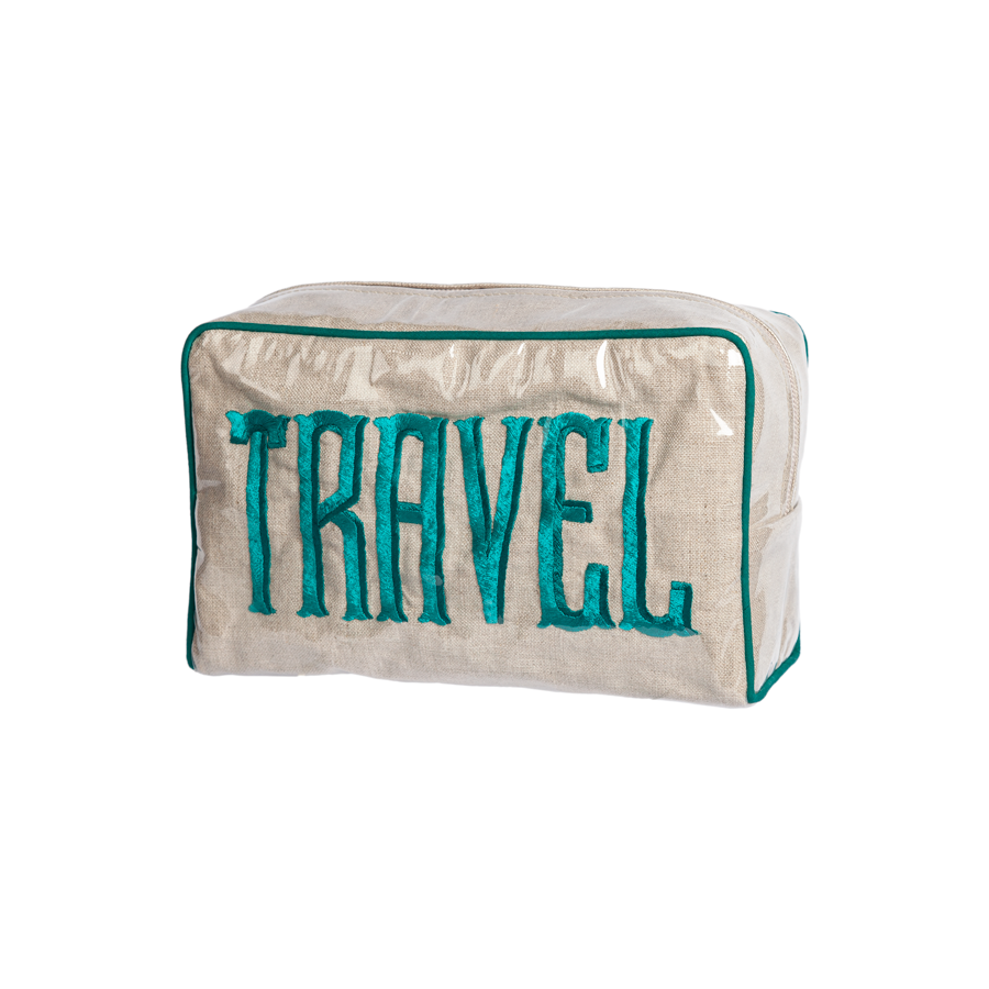 Embroidered Travel Case