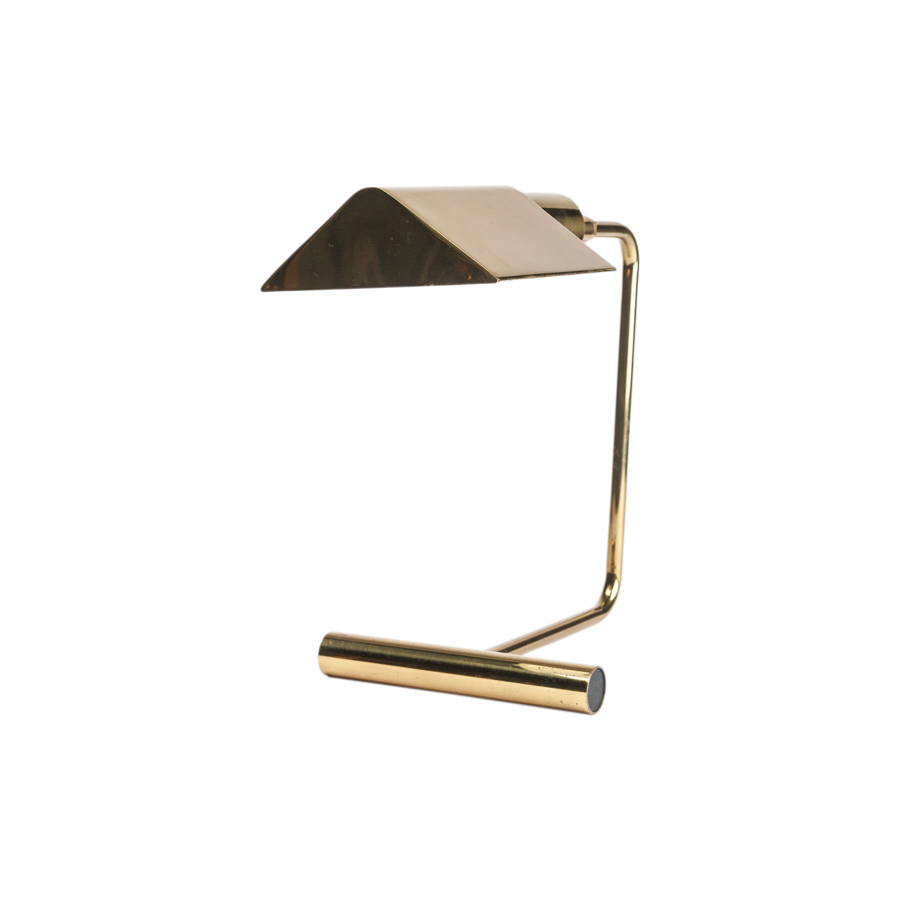 Brass Desk Lamp by Kosh & Lowy