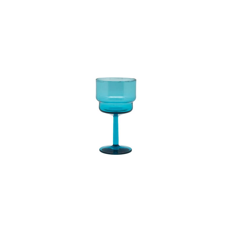 Teal Glasses - Set of 4