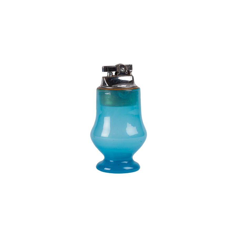 Blue Opaline lighter
