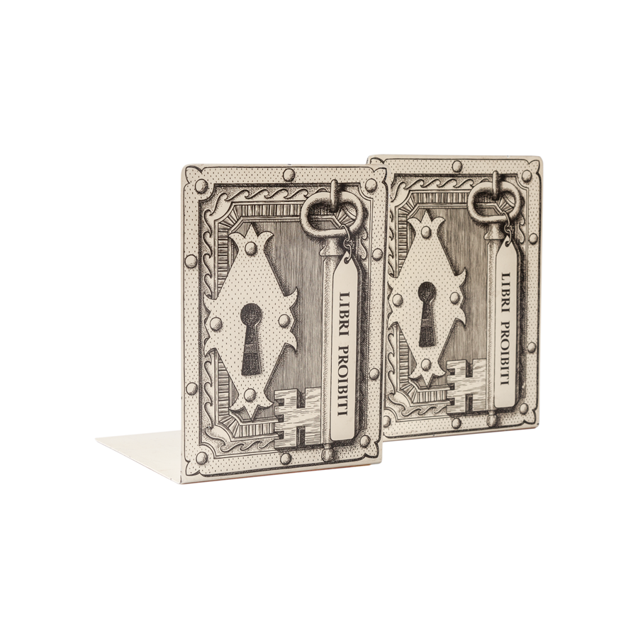 Fornasetti Bookends - Set of 2
