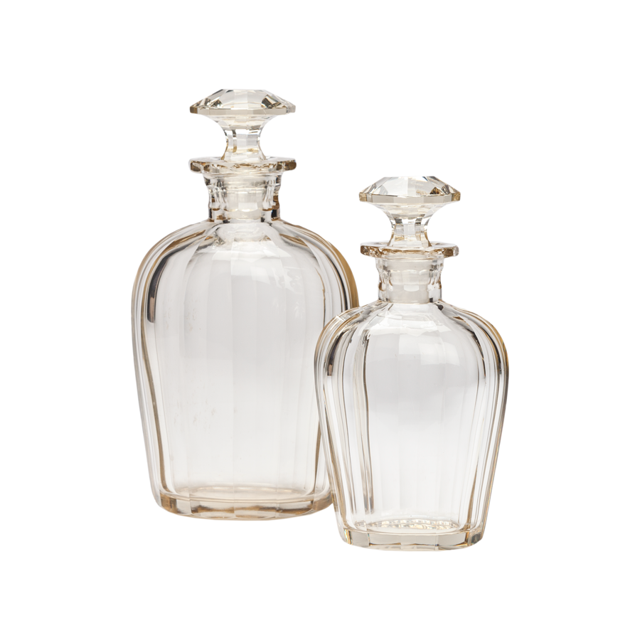 Baccarat Crystal Decanters - Set of 2