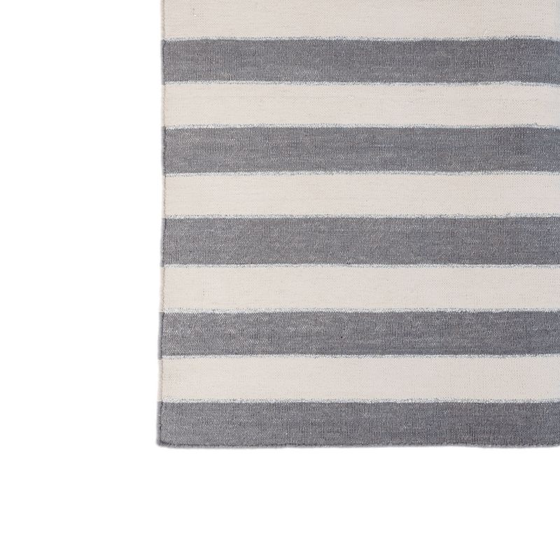 Rug-Cotton Dhurrie-Stripe