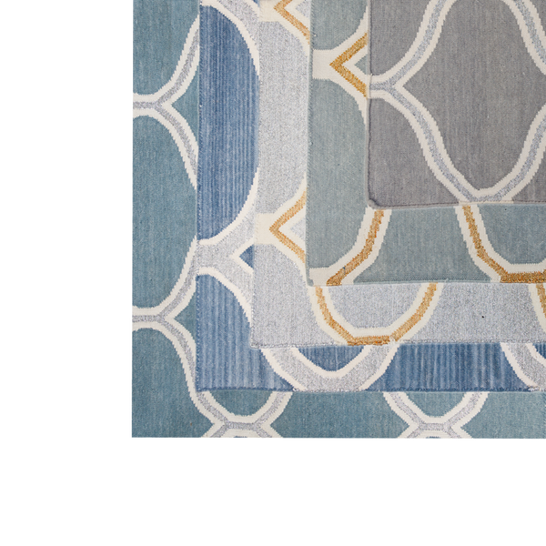 Rug-Cotton Dhurrie-Serpentine