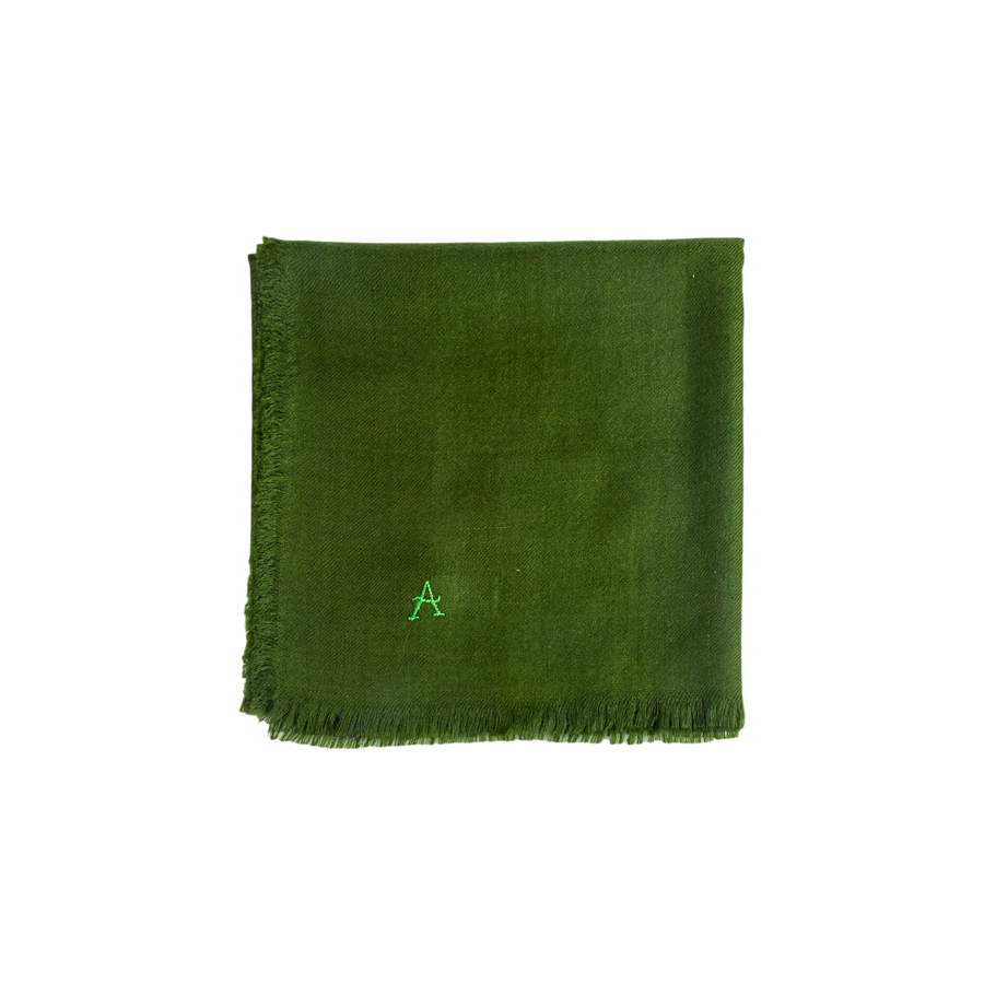 Indian Cashmere Square Scarf