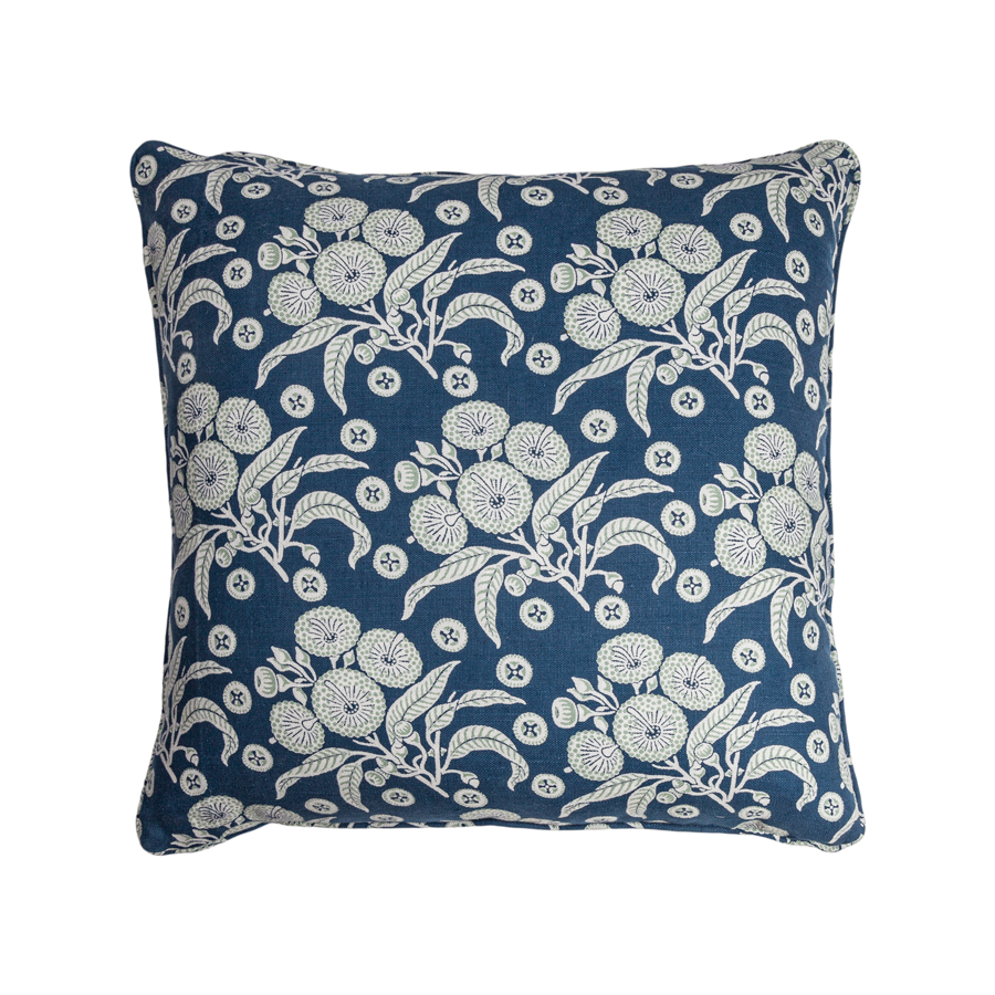 Native Posy - Large Square Pillow by Utopia Goods